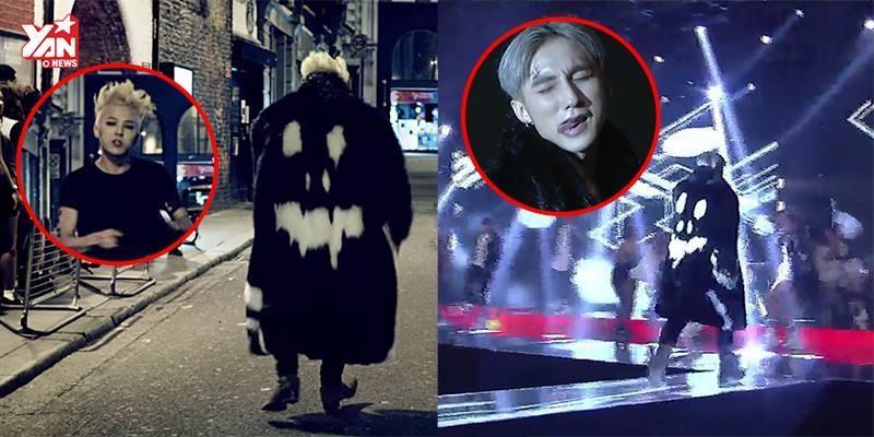 """Sơn Tùng diện áo giống G Dragon """"quẩy"""" hit mới cùng """"500 anh em"""""""