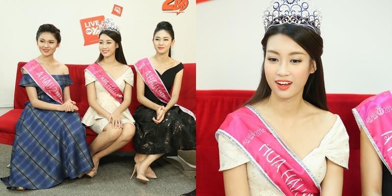 """Hoa hậu Mỹ Linh và 2 Á hậu đều thừa nhận mình vẫn """"ế"""""""