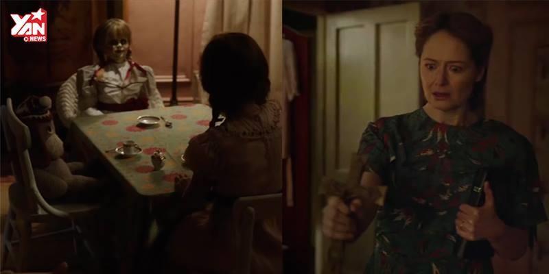 """Rợn người với trailer đầu tiên của búp bê ma ám """"Annabelle 2"""""""
