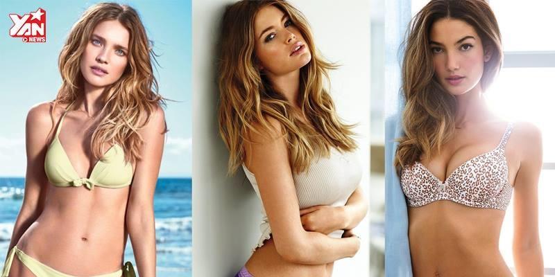 Top 10 người mẫu nóng bỏng nhất thế giới năm 2016