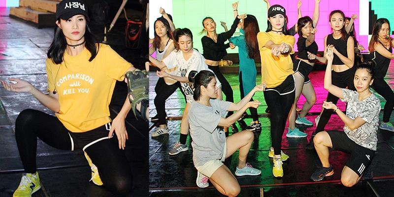yan.vn - tin sao, ngôi sao - Mặc mưa gió, Đông Nhi vẫn hăng say chạy sân khấu đến 4 giờ sáng