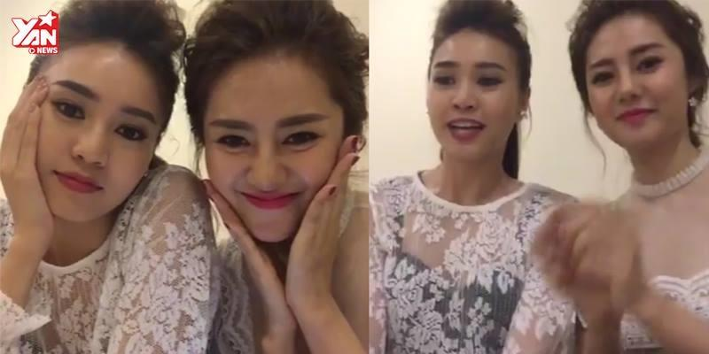 Fan thích thú với hình ảnh Lan Ngọc và Linh Chi nhí nhố