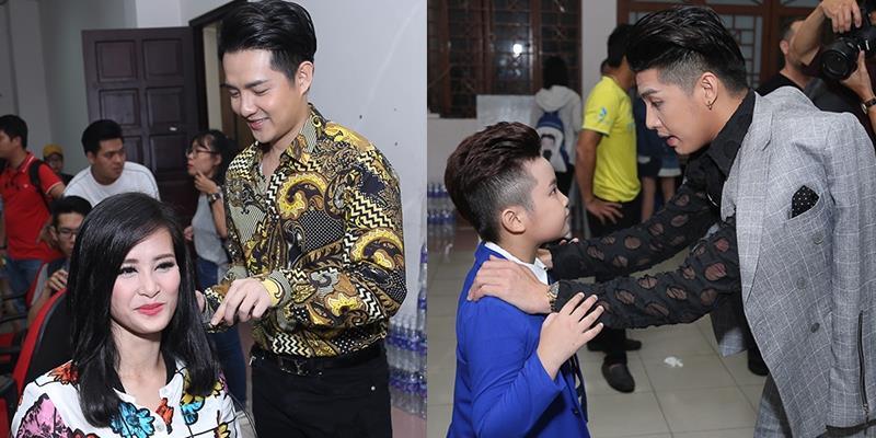yan.vn - tin sao, ngôi sao - Đông Nhi được Ông Cao Thắng làm tóc, Noo dặn dò kĩ lưỡng học trò