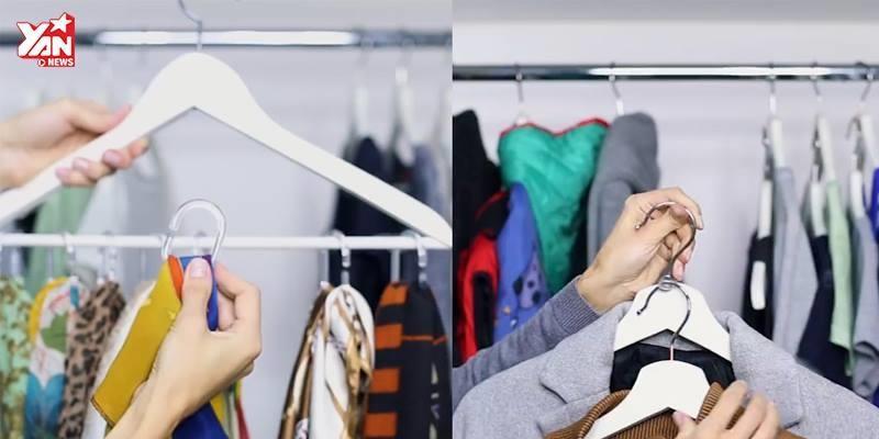 3 mẹo treo quần áo cực thông minh cho người bận rộn