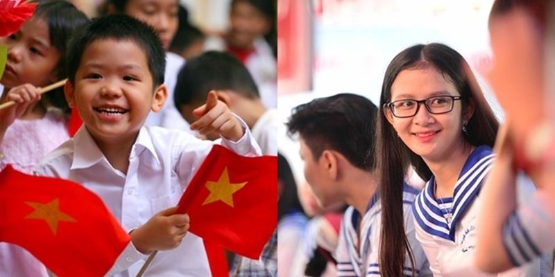 Những hình ảnh đáng nhớ trong lễ khai giảng của học sinh cả nước