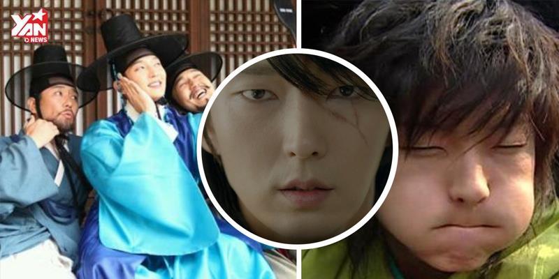 """Những khoảnh khắc cười ra nước mắt của """"nam thần kinh"""" Lee Jun Ki"""