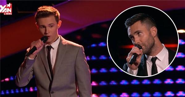 Đây là thí sinh đẹp trai khiến Adam Levine phải 'cướp sân khấu'