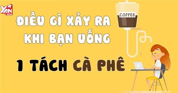 Điều gì sẽ xảy ra trong cơ thể khi bạn uống một tách cà phê?