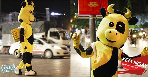 Chuyện chưa kể về bạn 'Bò Vàng' bán mực ngào kì lạ nhất Sài Gòn
