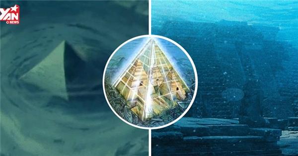 Phát hiện 2 kim tự tháp thủy tinh dưới đáy biển Tam giác quỷ Bermuda