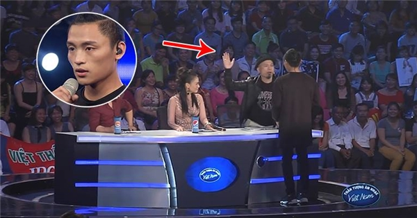 Huy Tuấn 'tát yêu' thí sinh Vietnam Idol Việt Thắng