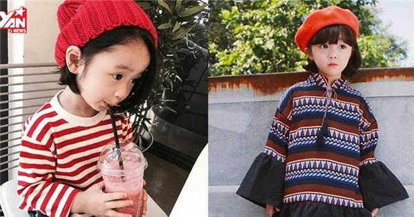 Mê mệt với những hot girl nhí xứ Hàn sành điệu hơn cả người lớn