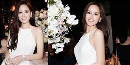yan.vn - tin sao, ngôi sao - Mai Phương Thúy nền nã trong váy trắng dự sự kiện