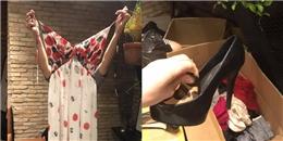 Chết cười chuyện cứu trợ áo dự tiệc, giày cao gót cho bà con vùng lũ