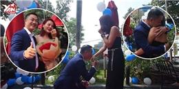 Lại một màn cầu hôn bất ngờ bằng flashmob khiến dân mạng phát hờn