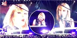 Trở lại sau cả năm, Taylor Swift chọn ca khúc của tình cũ để biểu diễn