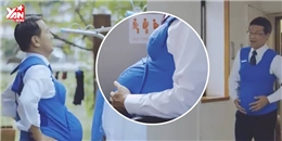 Nhật Bản cho đàn ông thử cảm giác mang thai của vợ