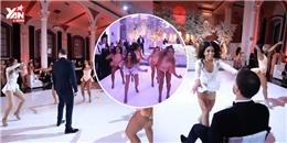Cô dâu nhảy khiêu gợi trong đám cưới gây sốt