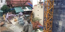 Lại sập giàn giáo ở Hà Nội khiến 2 người chết, 4 người bị thương