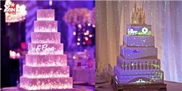 Ngất ngây với những chiếc bánh cưới đẹp huyền ảo như cổ tích