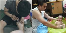 Phát hờn với hành động 'soái ca' của các ông chồng Việt