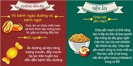 20 loại thực phẩm nên và không nên ăn khi bao tử rỗng