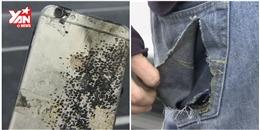 Khiếp vía iPhone 6 Plus nổ ngay trong túi quần