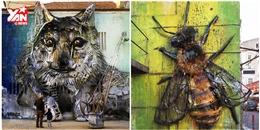 'Đống rác cũng thành nghệ thuật' nếu vào tay của nghệ sĩ