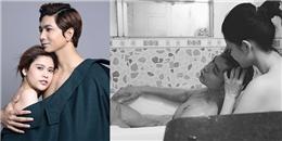 """yan.vn - tin sao, ngôi sao - """"Nóng mắt"""" trước hình ảnh tắm trần của Trương Quỳnh Anh bên ông xã Tim"""