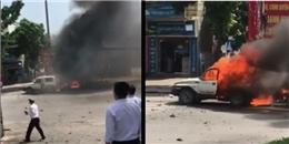 Đã xác định được nguyên nhân vụ nổ taxi ở Quảng Ninh