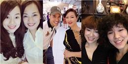Những cặp 'chị em sinh đôi' trẻ trung bất ngờ khiến fans sửng sốt