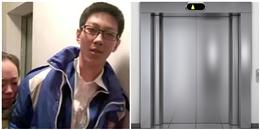 Mắc kẹt 5 giờ trong thang máy, cậu học sinh vẫn… ung dung làm bài tập
