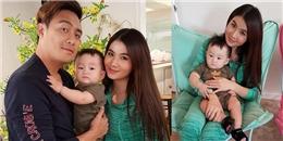 yan.vn - tin sao, ngôi sao - Vợ chồng Thanh Duy - Kha Ly thích thú khi ẵm con trai Xuân Mai