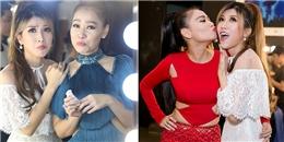 yan.vn - tin sao, ngôi sao - Thu Minh liên tục ôm hôn Trang Pháp ăn mừng bài hát mới sớm thành hit