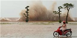 Tin bão số 7: bão mạnh cấp 13 hướng thẳng vào Quảng Ninh-Nam Định