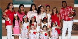Choáng váng với người phụ nữ 29 tuổi nhưng đã là mẹ của 14 cô con gái