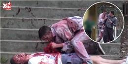 Chết điếng với màn xác sống ăn thịt người giữa phố