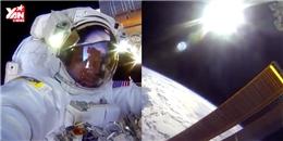 Thế giới xôn xao với đoạn livestream Facebook từ ngoài không gian