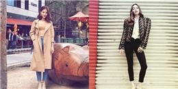 Hà Hồ, Diễm My 9X mặc đẳng cấp đẫn đầu streetstyle mặc đẹp tuần qua
