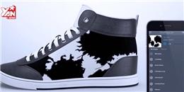 Thích thú với đôi giày 'siêu độc' có khả năng 'biến hình'