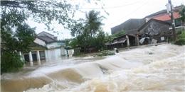 Miền Trung có nguy cơ phải chống lũ do mưa lớn tiếp tục xuất hiện