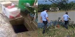 Hố ga mở nắp để thoát nước ngập khiến bé gái ngã xuống mất tích