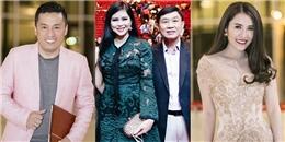 Sao Việt và bố mẹ chồng Hà Tăng đổ bộ thảm đỏ Diamond Show của Mr Đàm