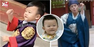 Xuất hiện  hậu duệ nhí  của  thánh quẩy  Park Bo Gum