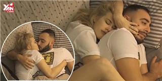 Chết cười với  50 sắc thái  của các chàng khi ngủ cùng bạn gái