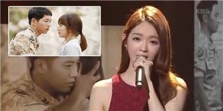 Davichi hát live nhạc phim  Hậu duệ mặt trời  khiến fan tan chảy