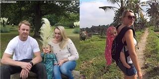 Ganh tị  với em bé được đi khắp thế gian khi chỉ 10 tuần tuổi