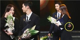 Cặp đôi Song - Song tình cảm trên sân khấu nhận giải thưởng danh dự - Tin sao Viet - Tin tuc sao Viet - Scandal sao Viet - Tin tuc cua Sao - Tin cua Sao