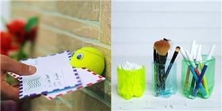 Cách tái chế 2 món đồ quen thuộc thành nhiều vật hữu dụng