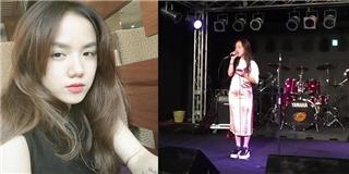 Phương Ly hát  Xe đạp  của Thùy Chi bằng hai thứ tiếng Việt - Nhật